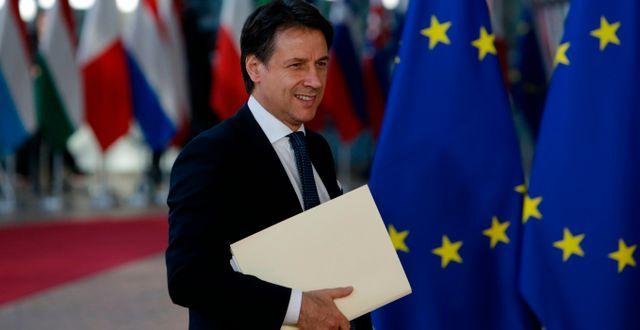 Italiens premiärminister Giuseppe Conte. ARIS OIKONOMOU / AFP