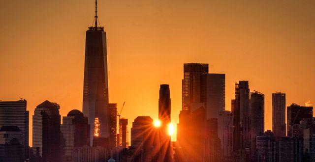 Skyline över New York.  J. David Ake / TT NYHETSBYRÅN