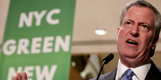 Bill de Blasio. Yana Paskova / GETTY IMAGES NORTH AMERICA