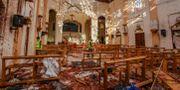 En av kyrkorna som utsattes för attentat. Chamila Karunarathne / TT NYHETSBYRÅN/ NTB Scanpix
