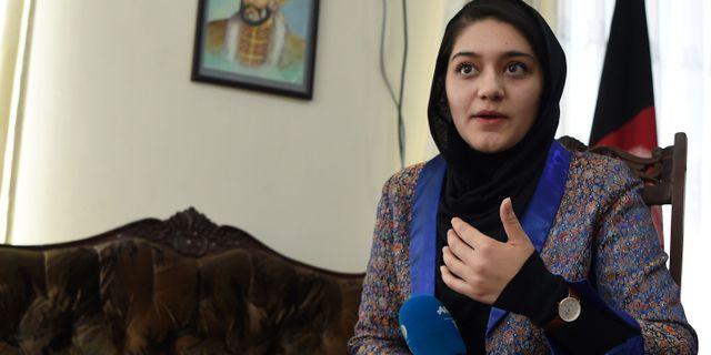 Aisha Khurram. WAKIL KOHSAR / AFP