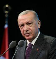 Recep Tayyip Erdogan TT NYHETSBYRÅN