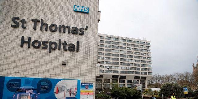 St Thomas' Hospital i London. Frank Augstein / TT NYHETSBYRÅN
