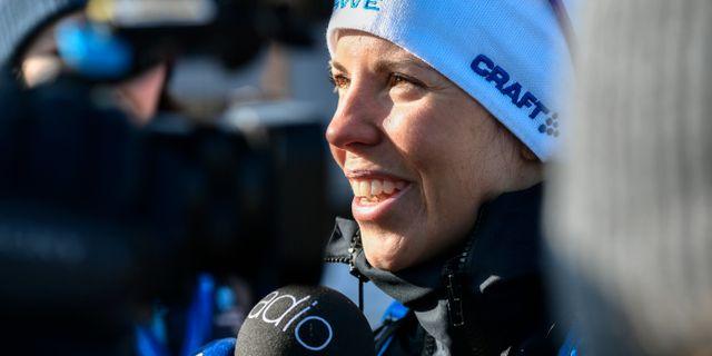 Charlotte Kalla på tisdagen Anders Wiklund/TT / TT NYHETSBYRÅN