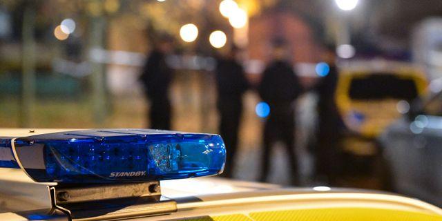 En man har dött efter ett bråk i Tumba söder om Stockholm  Johan Nilsson/TT / TT NYHETSBYRÅN