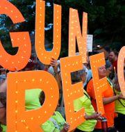 Arkivbild. Demonstration mot vapenvåld i Fairfax. Patrick Semansky / TT NYHETSBYRÅN