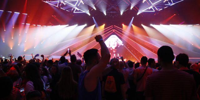 Bilder från semifinalen i Tel Aviv. Eurovision Song Contest.