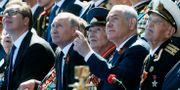 Vladimir Putin och Benjamin Netanyahu. Arkivbild. Maxim Shipenkov / TT NYHETSBYRÅN/ NTB Scanpix