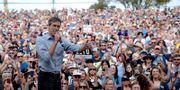 Arkivbild: Beto O'Rourke i samband med ett kampanjmöte i Texas. Nick Wagner / TT NYHETSBYRÅN/ Statesman.com