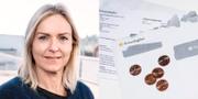 Cecilia Hegethorn Mogensen, biträdande rikskronofogde. Pressbild Kronofogden, Jeanette Andersson / TT