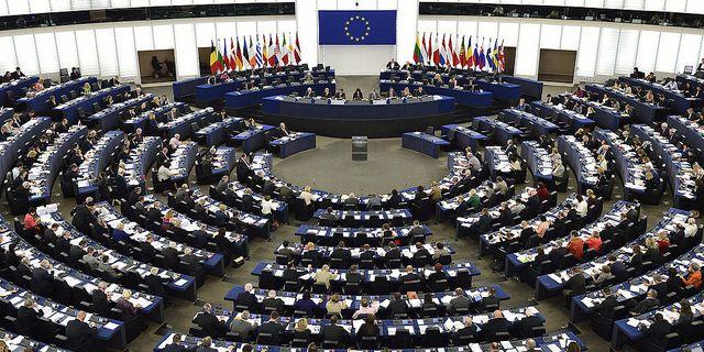 EU-parlamentet i Strasbourg. Foto:  HENRIK MONTGOMERY/TT