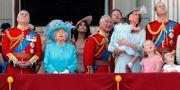 Prins Andrew tv och den brittiska kungafamiljen.  Frank Augstein / TT NYHETSBYRÅN