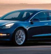 Arkivbild: Teslas Model 3. TT NYHETSBYRÅN