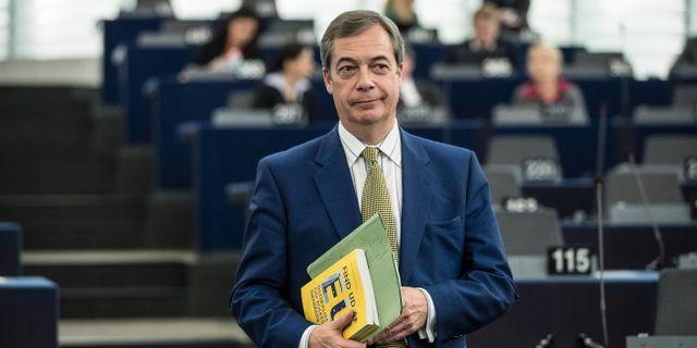Nigel Farage. Jean-Francois Badias / TT NYHETSBYRÅN/ NTB Scanpix