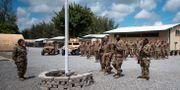 Militärbasen i Kenya som attackerats. Bild från ett tidigare tillfälle.  Staff Sgt. Lexie West / TT NYHETSBYRÅN