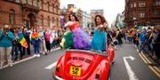 Prideparad i Nordirland i juli 2015. Arkivbild. Peter Morrison / TT NYHETSBYRÅN
