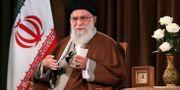 Ayatolla Ali Khamenei.  TT NYHETSBYRÅN/Office of the Iranian Supreme Leader via AP