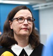 Utbildningsminister Anna Ekström.  Fredrik Sandberg/TT / TT NYHETSBYRÅN