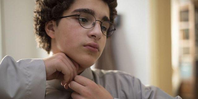 Bild från filmen på Ahmed, en 13-årig skolpojke. Triart/pressbild