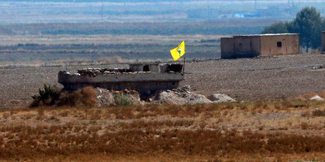 En kurdisk utpost i norra Syrien. Lefteris Pitarakis / TT NYHETSBYRÅN