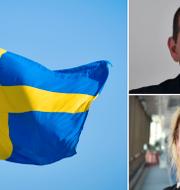 Roger Haddad och Johanna Jaara Åstrand. TT