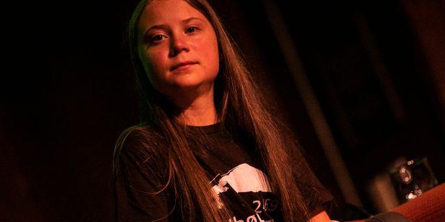 Greta Thunberg.  Jeenah Moon / TT NYHETSBYRÅN