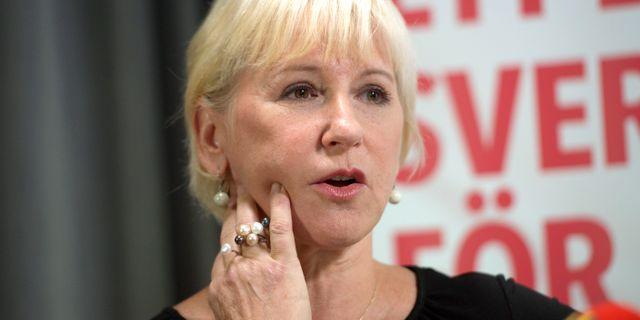 Margot wallstrom gor comeback i inrikespolitiken
