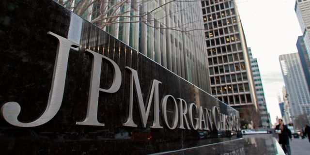 Arkivbild: JPMorgan Chase-byggnaden i New York  Bebeto Matthews / TT NYHETSBYRÅN