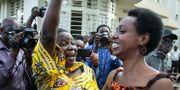 Diane Rwigara efter beskedet.  CYRIL NDEGEYA / AFP