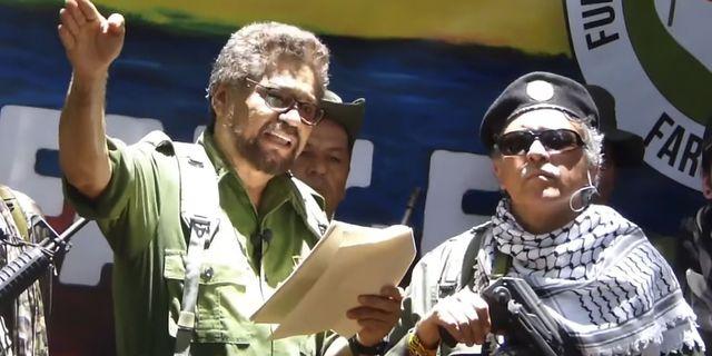 Ivan Marquez till vänster. HO / YOUTUBE
