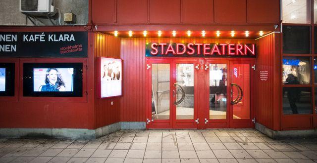 Stadsteatern i Stockholm. Staffan Löwstedt/SvD/TT / TT NYHETSBYRÅN