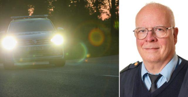 Stefan Wickberg, polisens presstalesperson.  TT/ Polisen