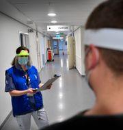 Mottagning för långtidssjuka i covid på Karolinska. Anders Wiklund/TT / TT NYHETSBYRÅN