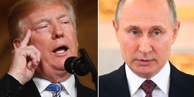 Donald Trump/Vladimir Putin. TT