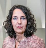Annika Winsth, chefekonom på Nordea. Stefan Ingves, chef på Riksbanken.  TT
