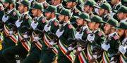 Iranska revolutionsgardet. Arkivbild. STRINGER / afp