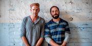 Skådespelarna Gustaf Skarsgård och Matias Varela.  Adam Ihse/TT / TT NYHETSBYRÅN