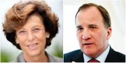 Antonia Ax:son Johnson / statsminister Stefan Löfven.  Jörgen Hildebrandt / TT