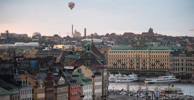Illustrationsbild: Centrala Stockholm. Fredrik Sandberg/TT / TT NYHETSBYRÅN