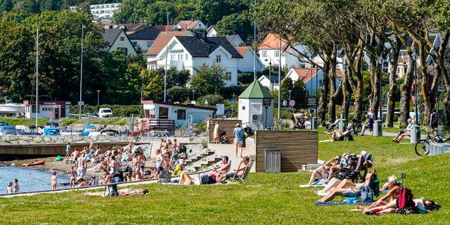 Bild från Moss. Lise Åserud / TT NYHETSBYRÅN