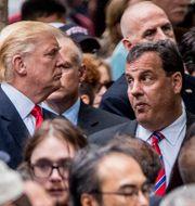 Trump och Christie. Andrew Harnik / TT / NTB Scanpix