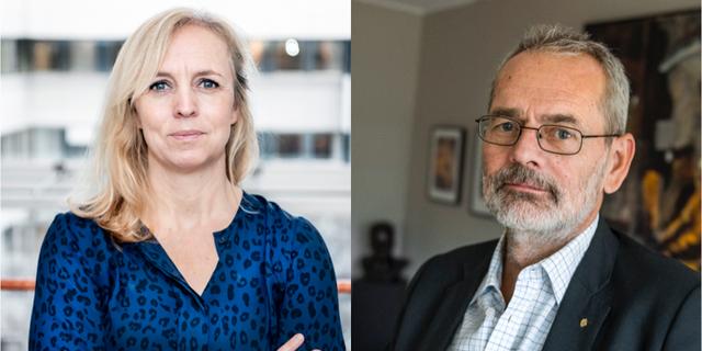 Alexandra Stråberg och Anders Ferbe.  Tomas Oneborg / SvD / TT. Claudio Bresciani / TT /
