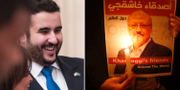 Kronprinsens bror Khalid bin Salman.  TT