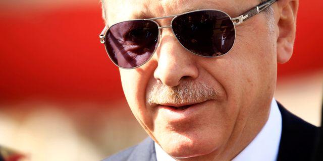 Erdogan. Mohamed Nureldin Abdallah / TT NYHETSBYRÅN