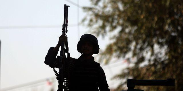 Illustrationsbild. En afghansk polis.  Massoud Hossaini / TT NYHETSBYRÅN/ NTB Scanpix