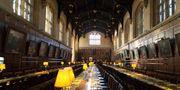 Harry Potter bjuder in till julfirande på Hogwarts i december. Getty