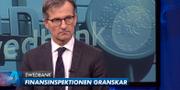 Thedéen i Aktuellt.  SVT