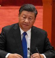 Xi Jinping  Andy Wong / TT NYHETSBYRÅN