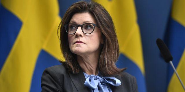 Eva Nordmark.  Ali Lorestani/TT / TT NYHETSBYRÅN