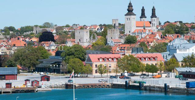 Visby hamn. Illustrationsbild Fredrik Sandberg/TT / TT NYHETSBYRÅN